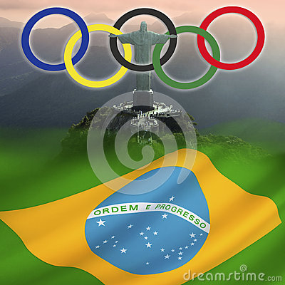 Olympic Games 2016 - Rio de Janeiro - Brazil Editorial Image