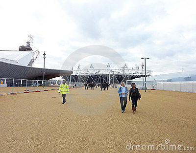 Olympic Games Site In Strafford Editorial Stock Photo