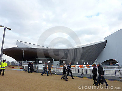 Olympic Games Site In Strafford Editorial Stock Image