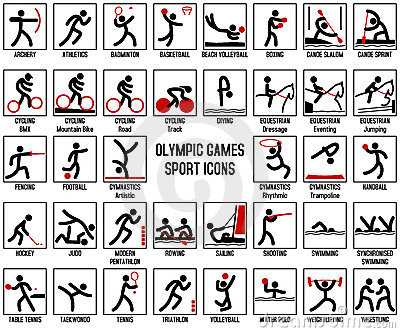 Olympic Games Sport Icons