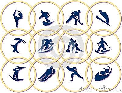 Olympic games symbols