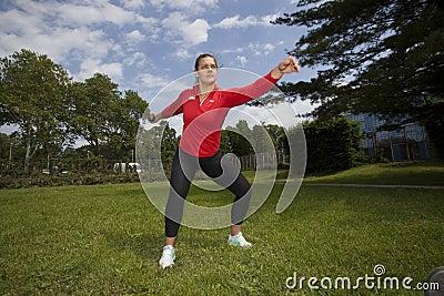 Olympic gold medal winner Sandra Perkovic Editorial Image