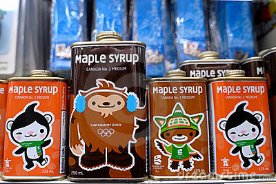 Olympic Maple Syrup Editorial Stock Image
