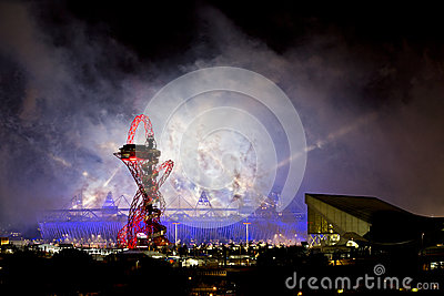 Olympic Opening Ceremony 2012 Editorial Image