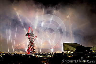 Olympic Opening Ceremony 2012 Editorial Stock Image
