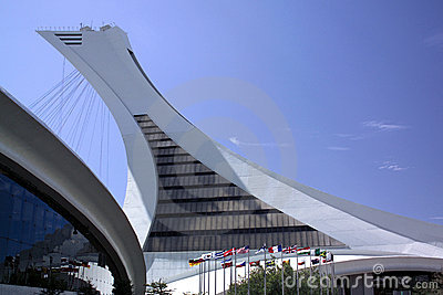 Olympic Park - Montreal - Canada Editorial Photo
