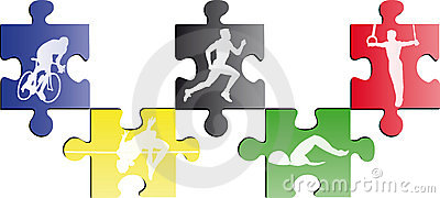 Olympic puzzle