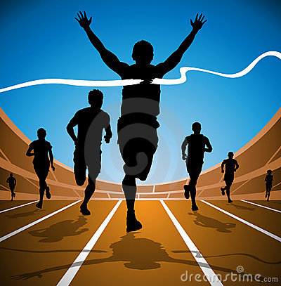 Olympic Race Winner