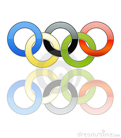 Free Olympic Rings [01] Stock Photo - 11261040