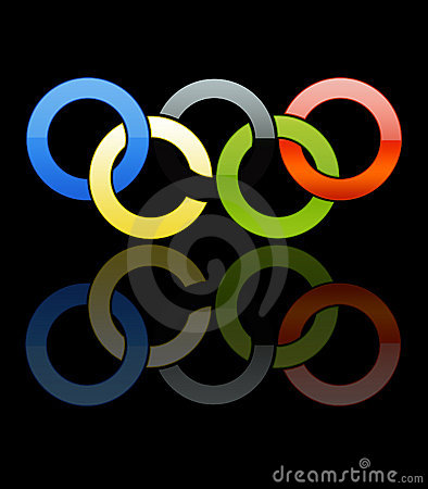 Olympic Rings [02] Editorial Photography