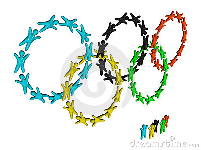 Olympic rings Editorial Photography