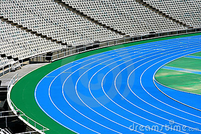 Olympic running tracks