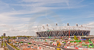 Olympic site London Editorial Stock Image