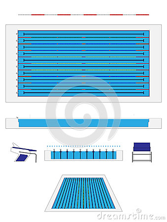 olympic size swimming pool - Olympic Size Swimming Pool Dimensions
