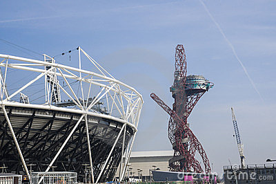 Olympic Stadium 2012 Editorial Stock Image