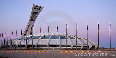 Olympic stadium Editorial Photography