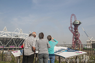 Olympic Stadium Editorial Photo