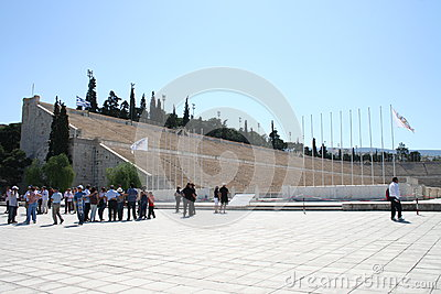Olympic stadium in Athens Editorial Stock Image