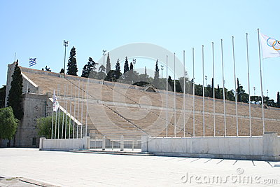 Olympic stadium in Athens
