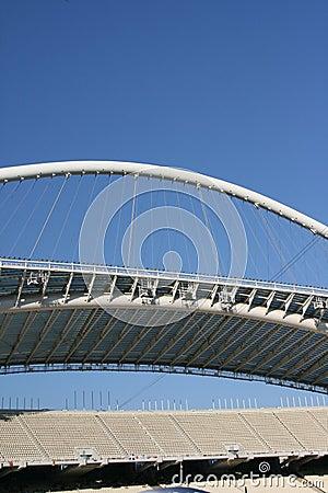 Olympic stadium of athens Editorial Image