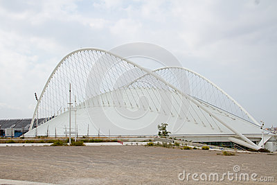 Olympic Stadium in Athens, Greece Editorial Stock Image