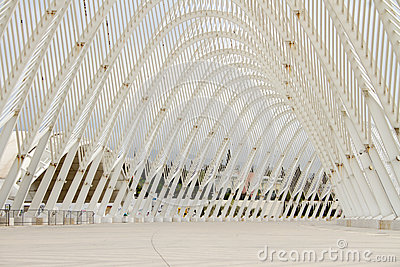 Olympic Stadium in Athens, Greece Editorial Stock Photo