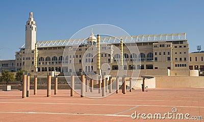 Olympic Stadium of Barcelona Editorial Image