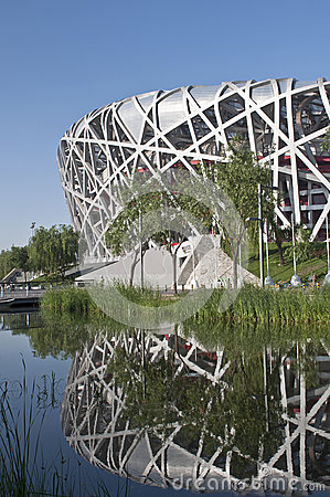 Olympic stadium of beijing Editorial Photography