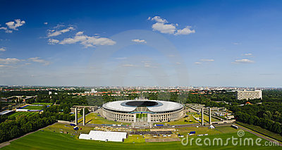 Olympic stadium berlin Editorial Stock Photo