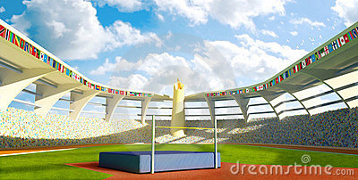 Olympic Stadium - High jump
