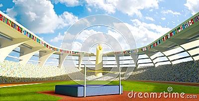 Olympic Stadium - High jump