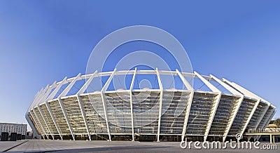 Olympic Stadium in Kiev, Ukraine Editorial Photography