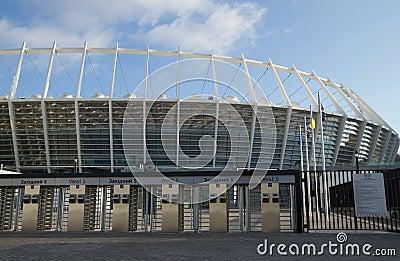 Olympic Stadium  in Kyiv, Ukraine Editorial Stock Photo