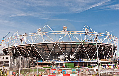 Olympic Stadium London Editorial Photography