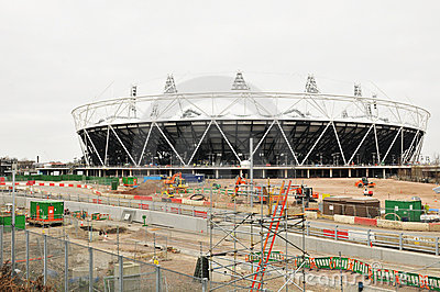 Olympic stadium London 2012 Editorial Photo