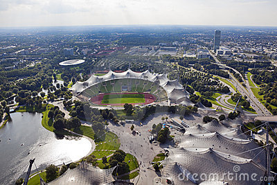 Olympic Stadium Munich Editorial Image