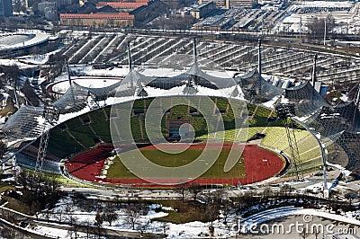 Olympic stadium in Munich