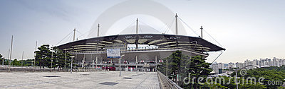 Olympic stadium in Seoul Editorial Stock Photo