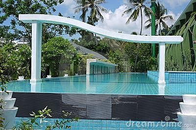 Olympic swimming pool in Thailand