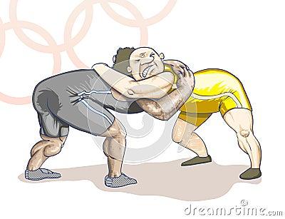 Olympic  toons -  Greco-Roman