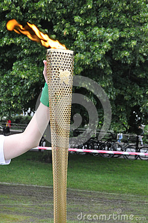Olympic Torch Editorial Photography