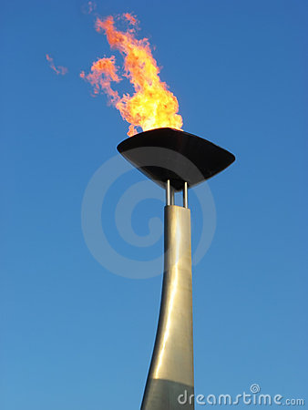 Free Olympic Torch Royalty Free Stock Photo - 3058235