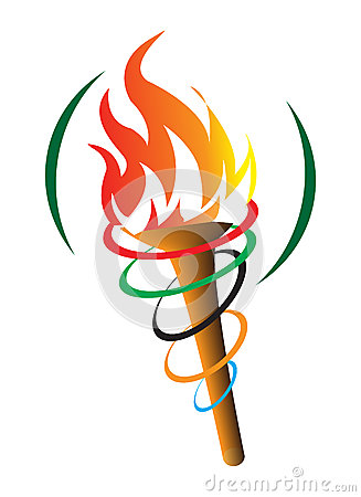 Free Olympic Torch Stock Images - 39979114