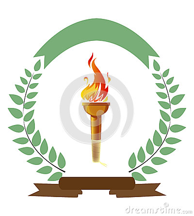 Free Olympic Torch Royalty Free Stock Images - 39980499