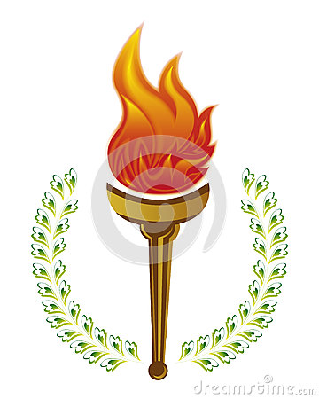 Free Olympic Torch Stock Image - 40011841