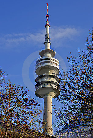 Olympic tower Munich Editorial Stock Photo