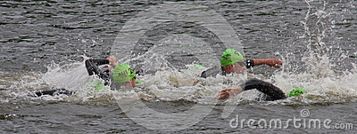 Olympic Triathlon Editorial Photography