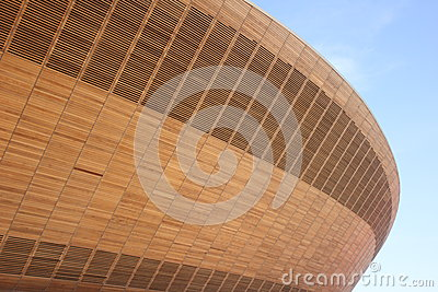 THE OLYMPIC VELODROME Editorial Stock Image