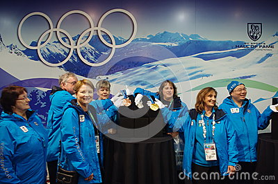 2010 Olympic Winter Games Olympic volunteers Editorial Photography