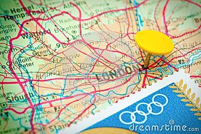 Olympics 2012 de Londres Fotografia Editorial